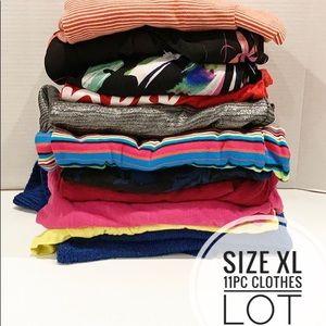 11 pc Womens clothes lot Bundle Size XL